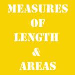 Английская мера длины и пощади с переводом и произношением