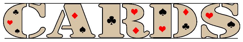 Масти и названия игральных карт на английском