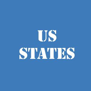 Штаты США на карте на русском языке со столицами городами Список