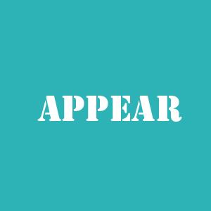 Appear appear